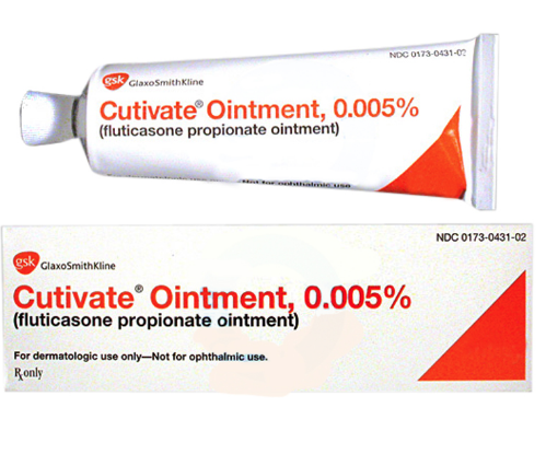 Cutivate 0.005 % Ointment 10 gm (Generic Equivalent)
